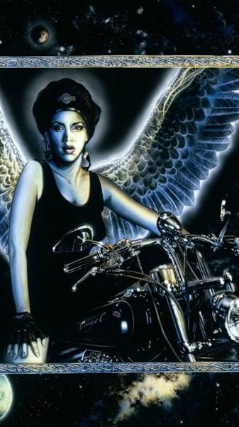 Biker Angel