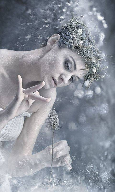 Image result for winter fairy