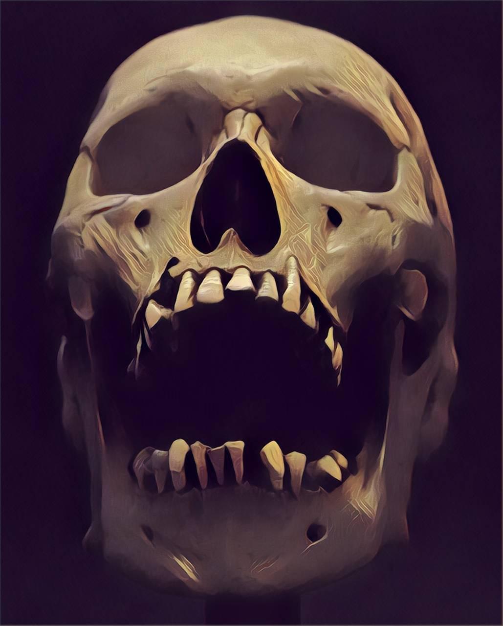 Smudged Skull