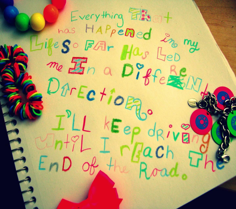 Colorful Saying