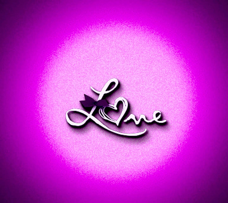 Purple Pink Love