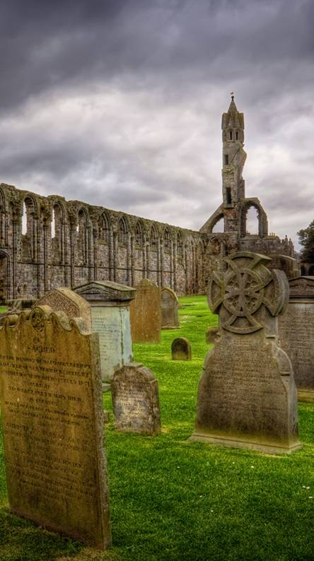 Celtic Graveyard