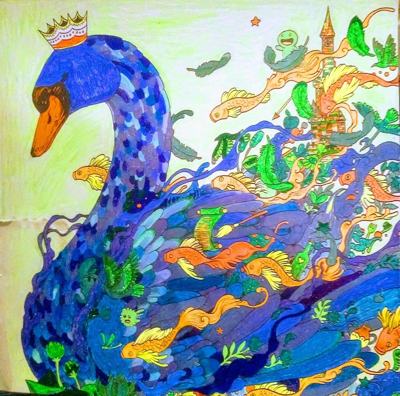 Swan gel penned