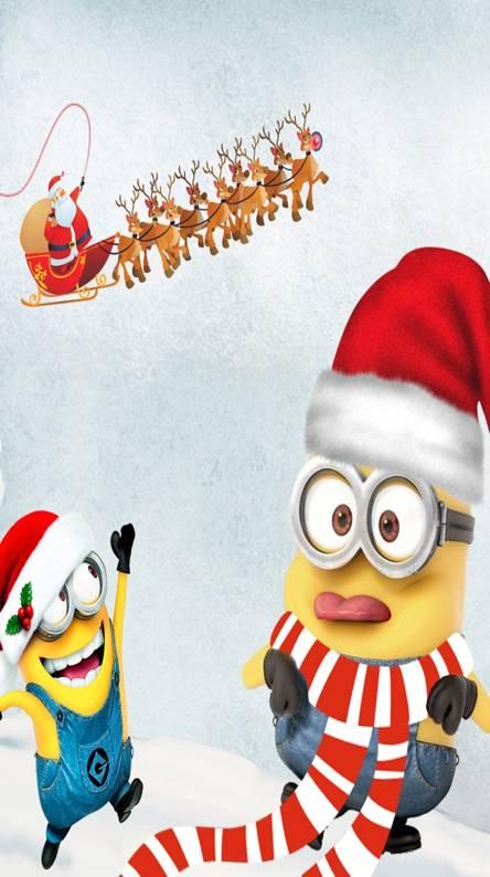 Minions Christmas Wallpapers