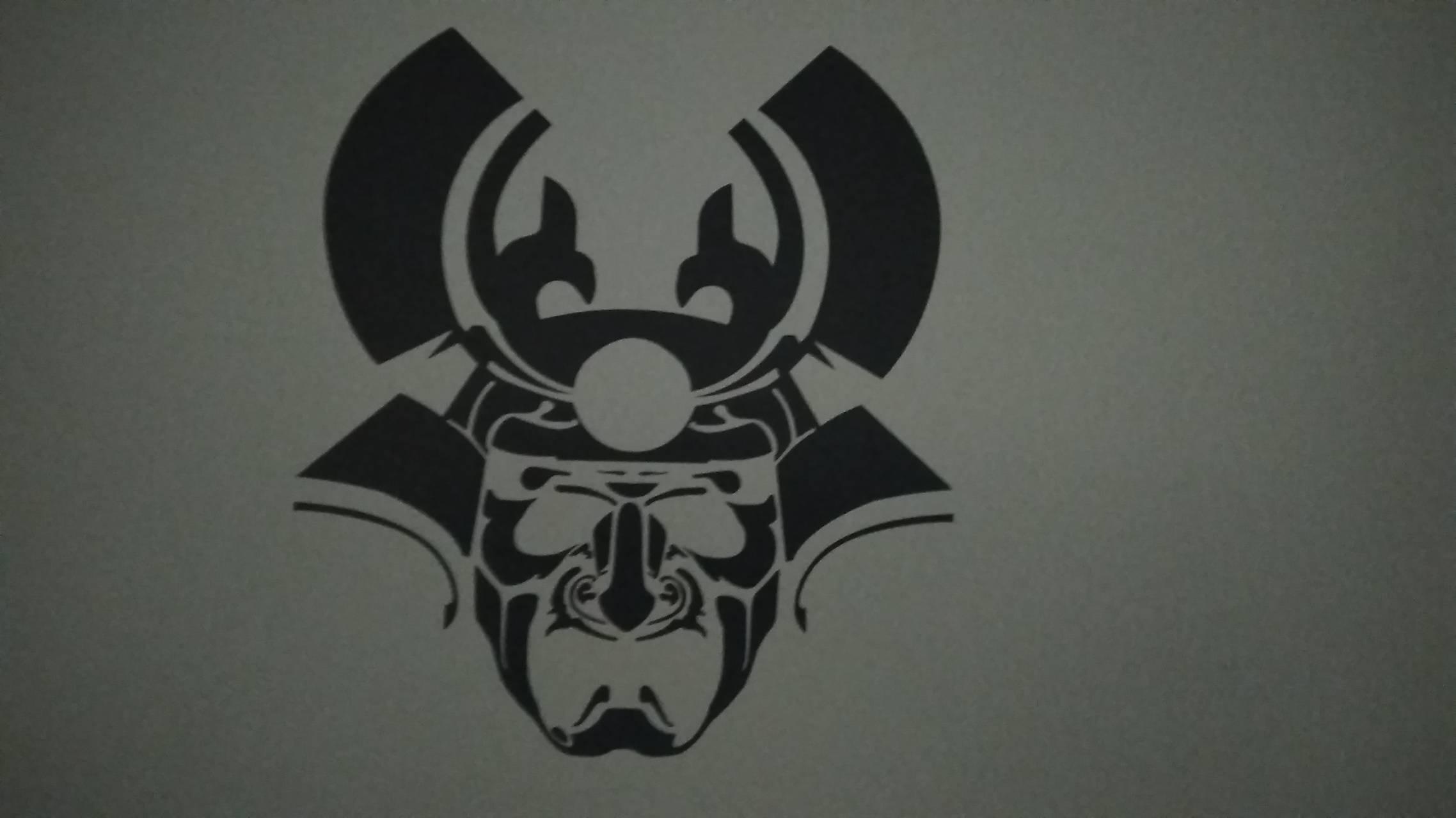 Samurai face 2