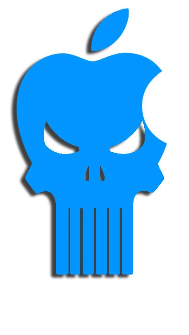 Apple Punisher Blue