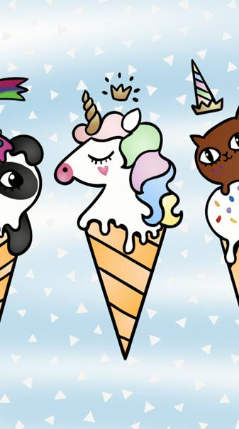 Animal ice cream