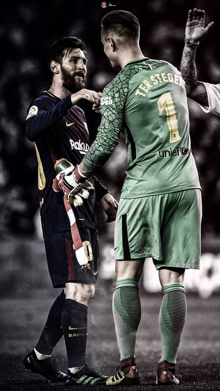 Messi and Stegen