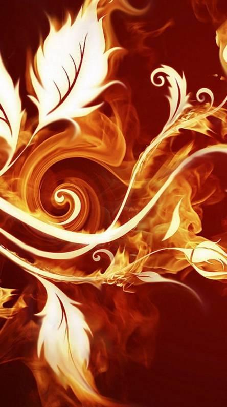 Flames Flowers