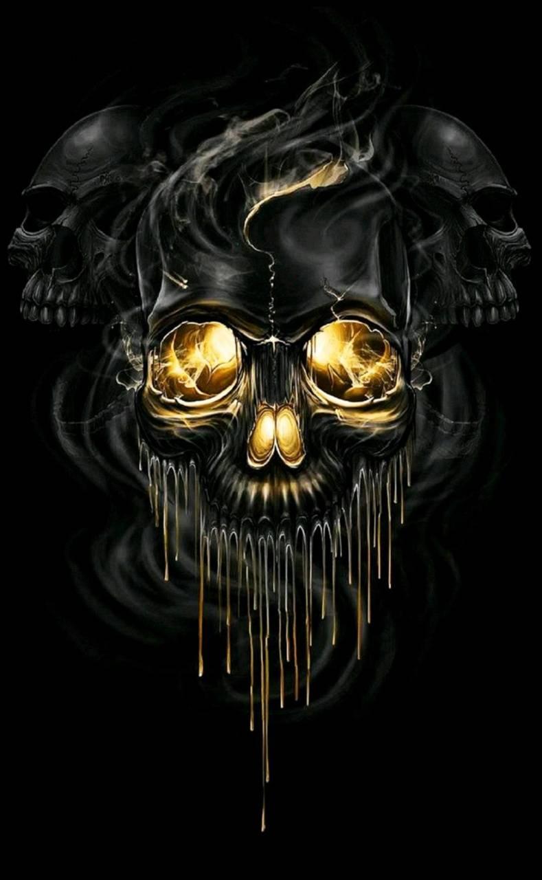 Skull Black dixylz