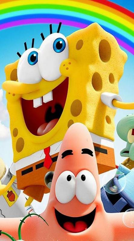 Spongebob Wallpapaer I Phone HD