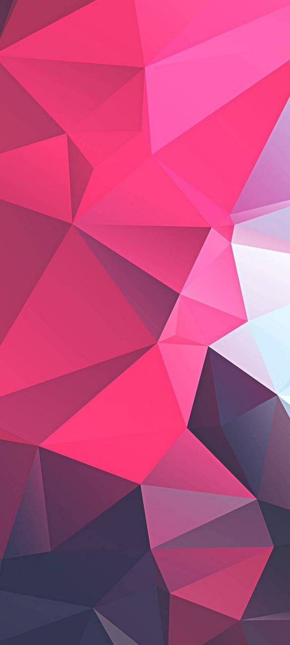 3D Pink Polygon