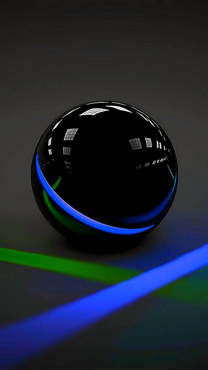 Black orb