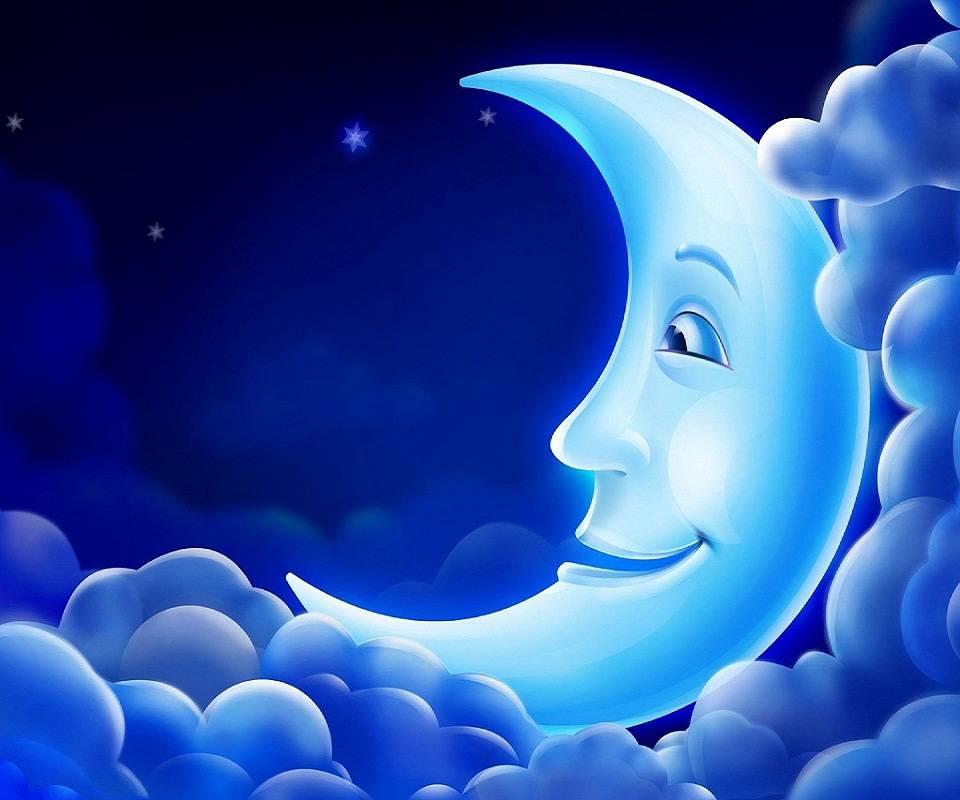 Hd- Cute Moon
