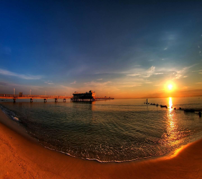 Golden Sunset Hd