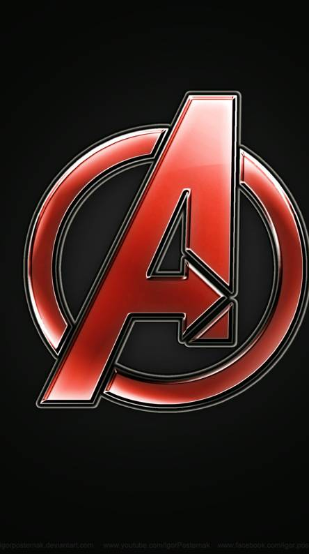 Avengers wallpapers free by zedge - Avengers a logo 4k ...