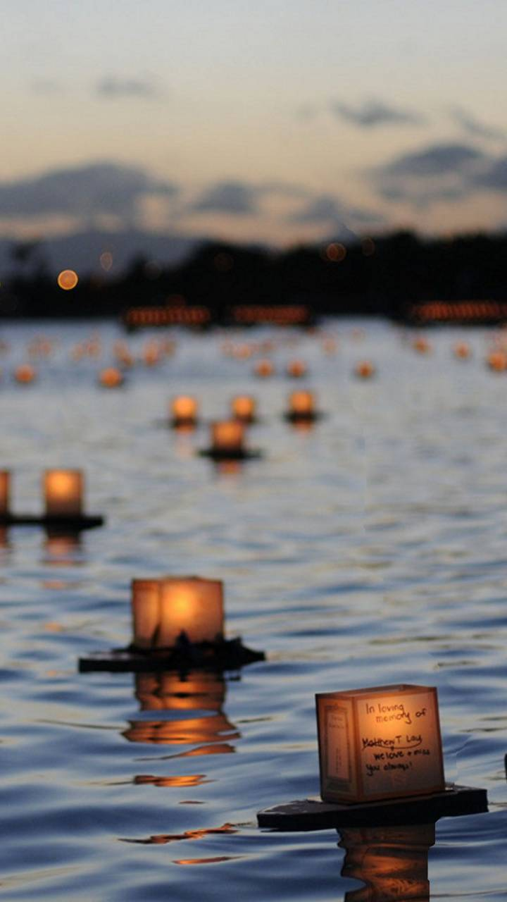 river candle