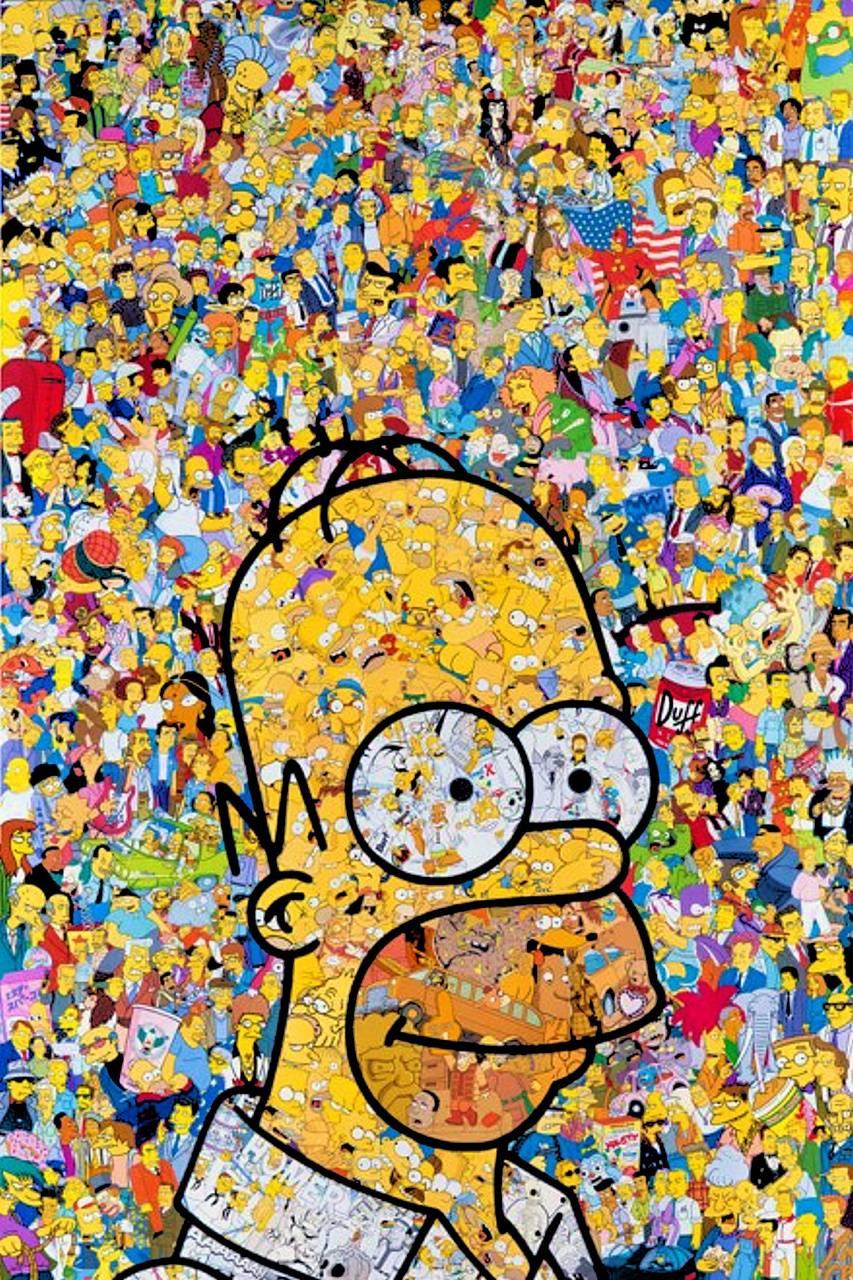 Simpsons Popart