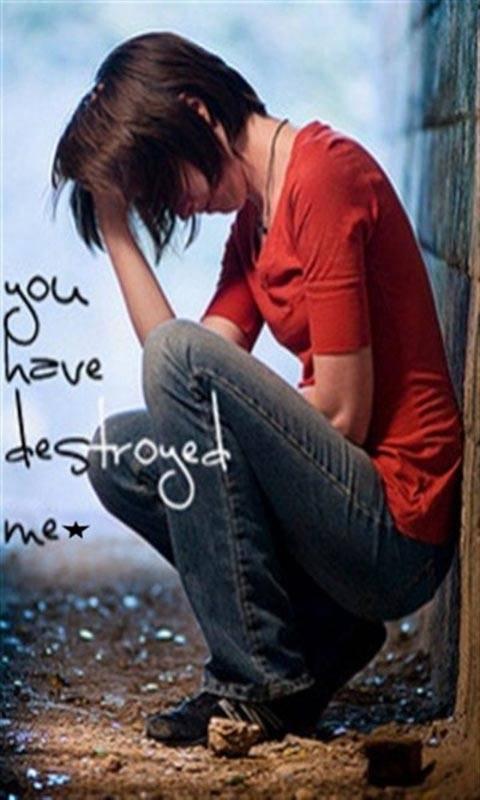 U Destroyed Me