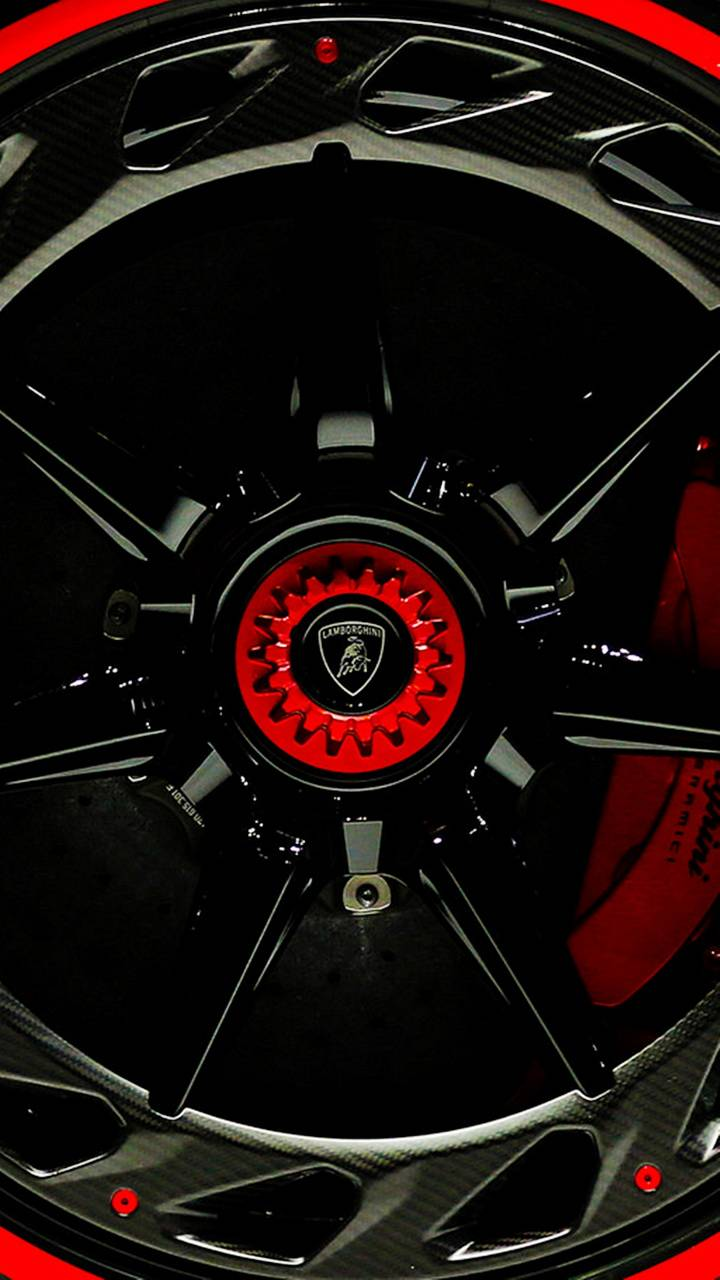 Venevo Red Wheel