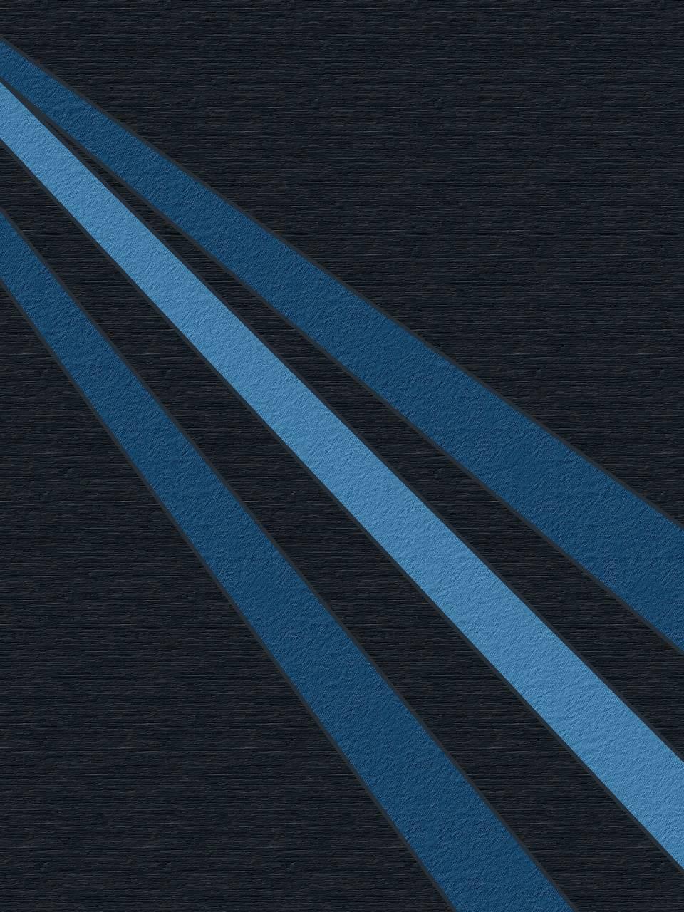HQ Blue Art Screen