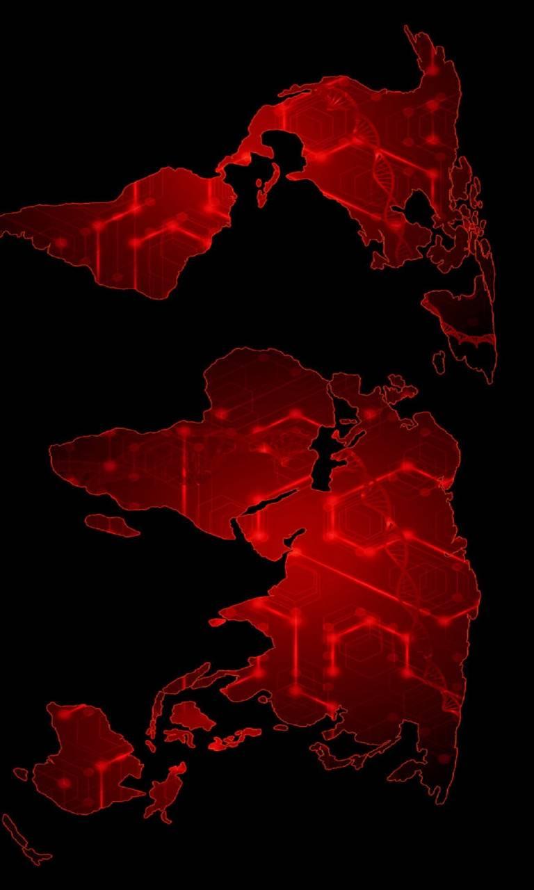 world map digital