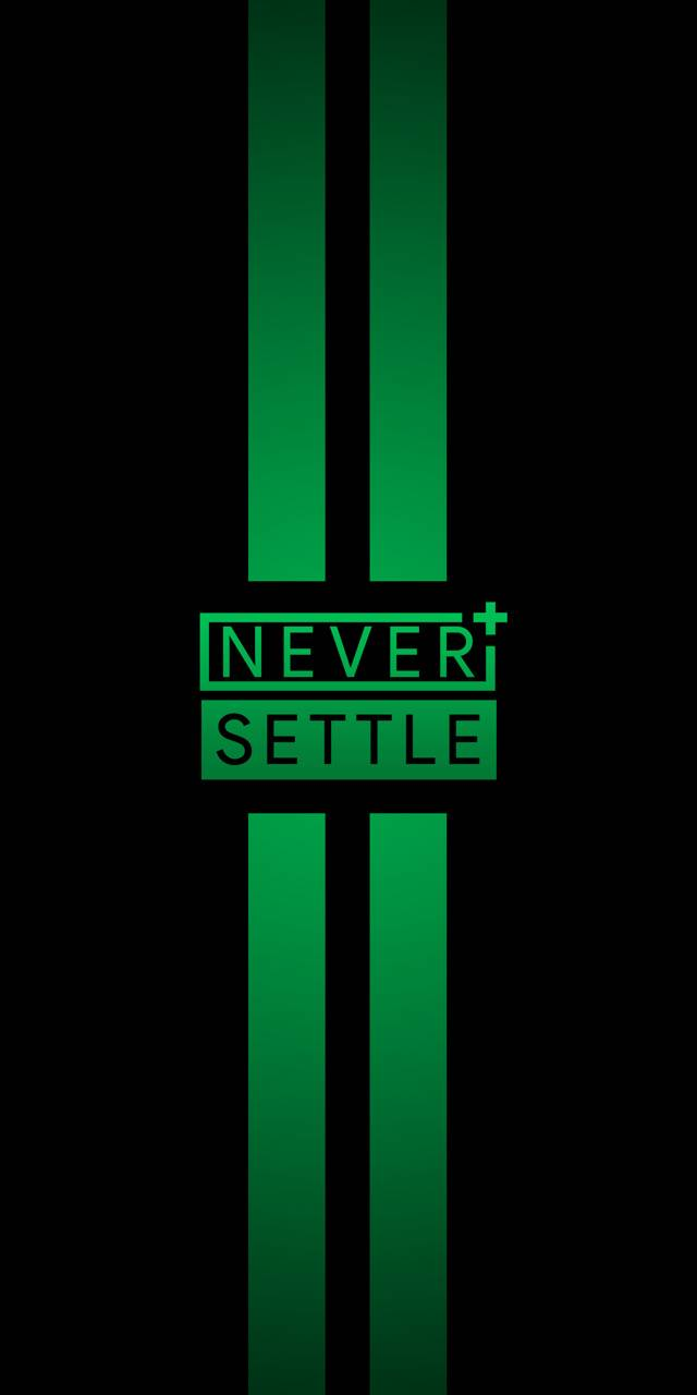 NEVER SETTLE WP 5