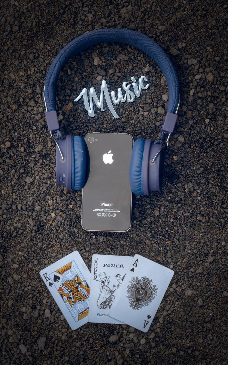 With music