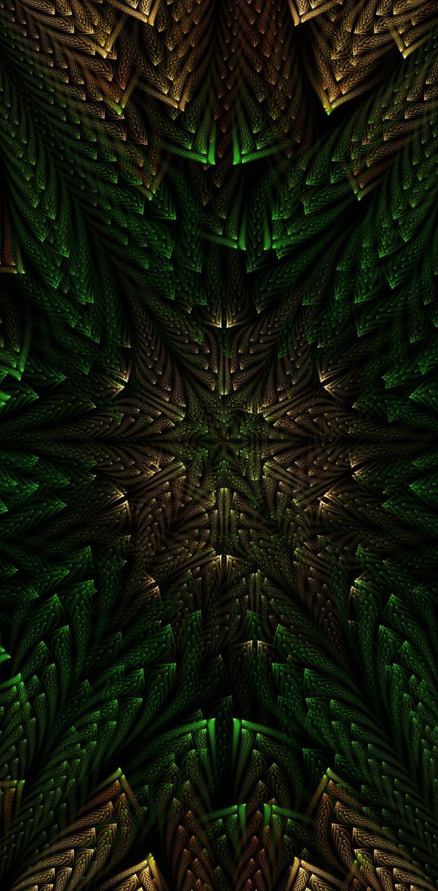 Symmetry fractal