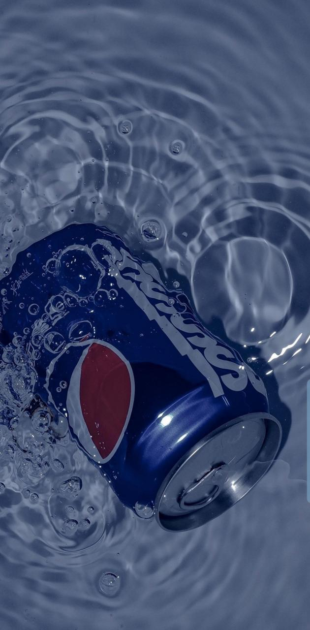 Underwater Pepsi