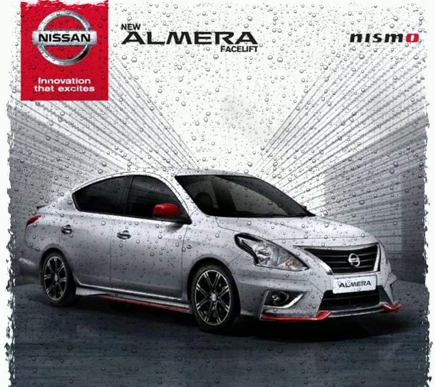 Almera facelift