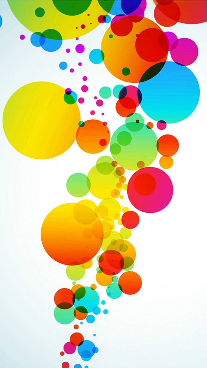 hd colorful circles