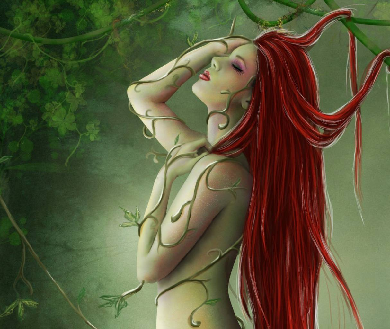 Red Hair Fantasy