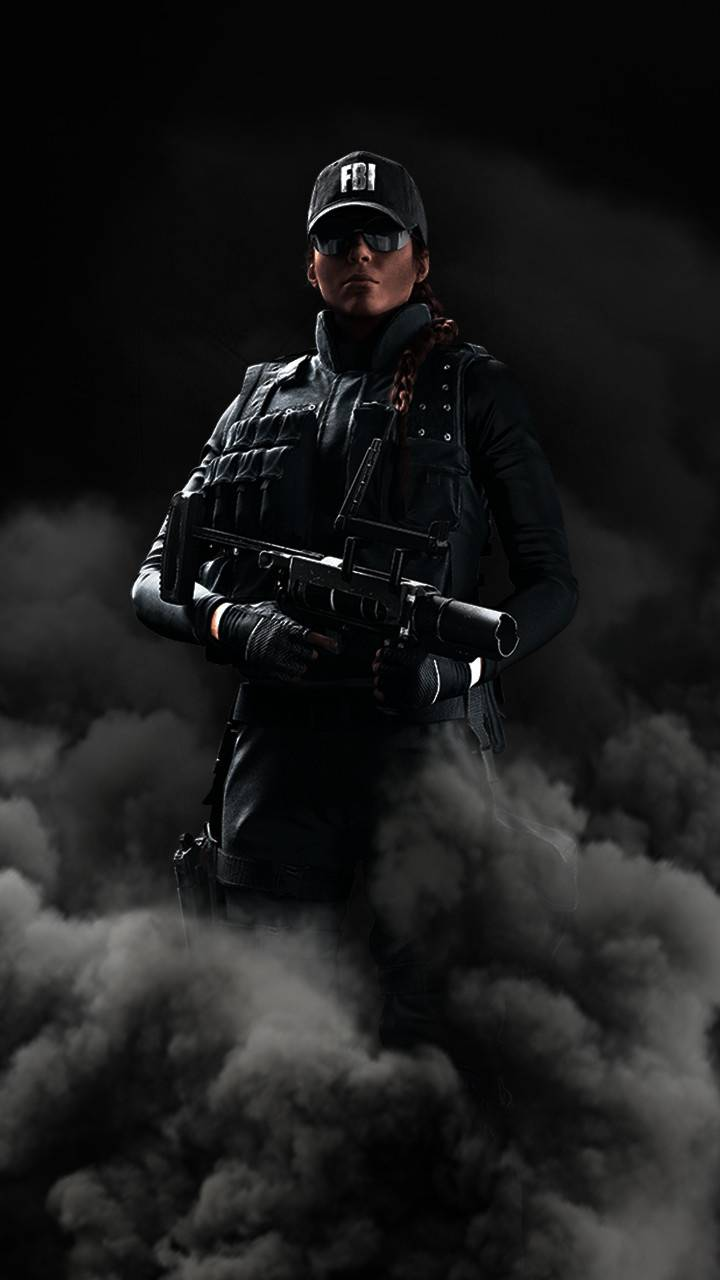 The smoke soldier
