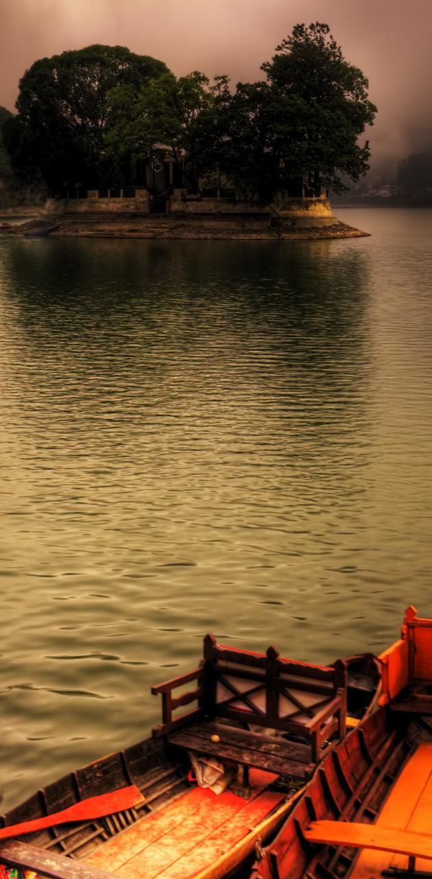 Lake Called Bhimtal