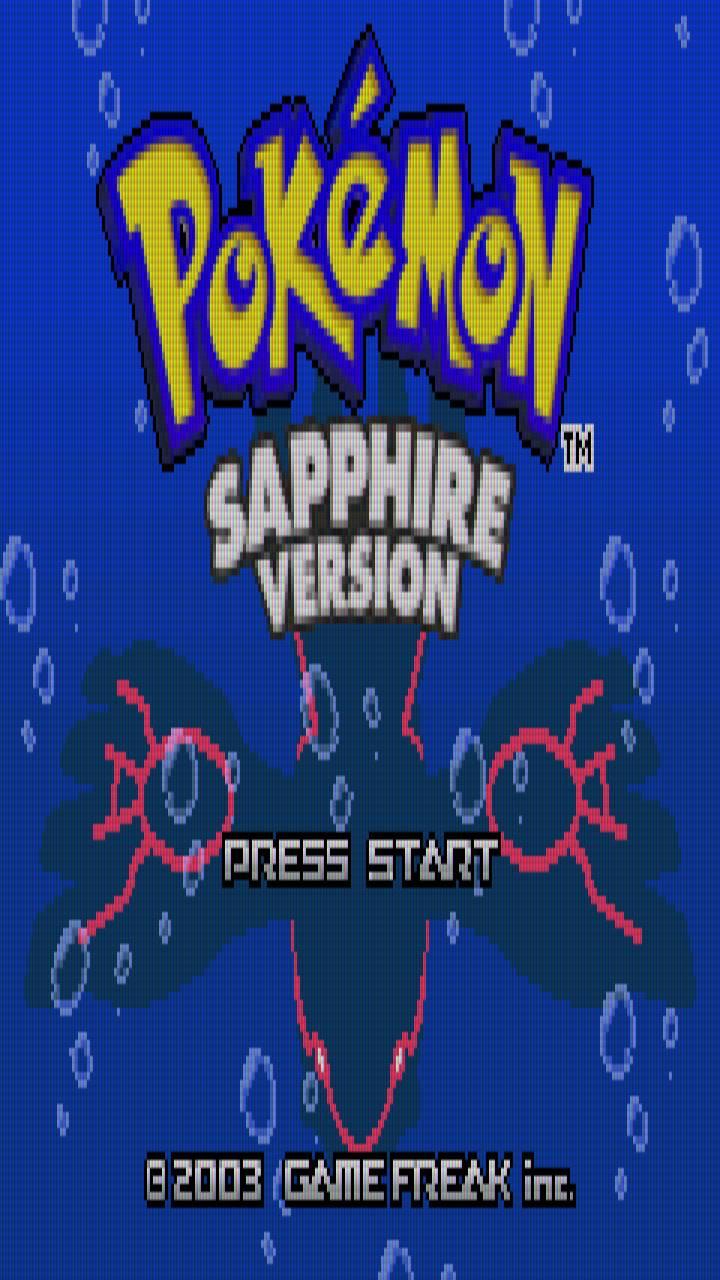 Pokemon Sapphire Wallpaper By Karuma Pk C2 Free On Zedge