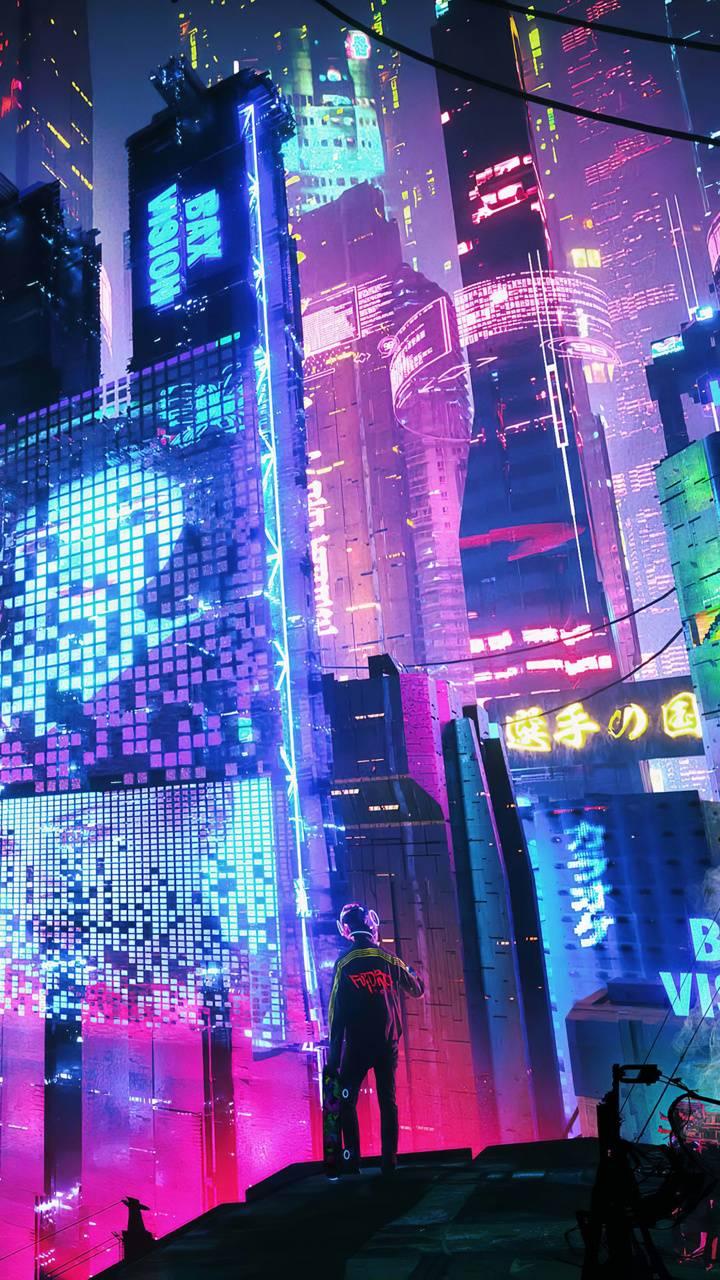 Neon City Wallpaper By Aneek004 Fa Free On Zedge