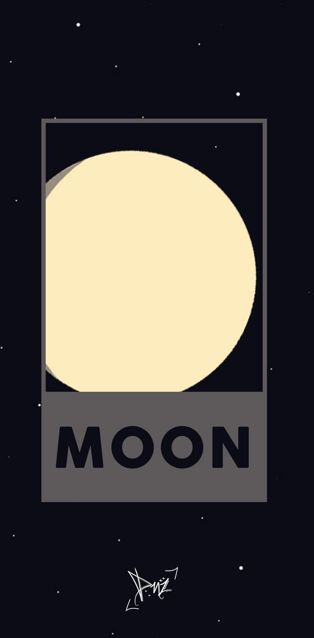Minimalist Moon