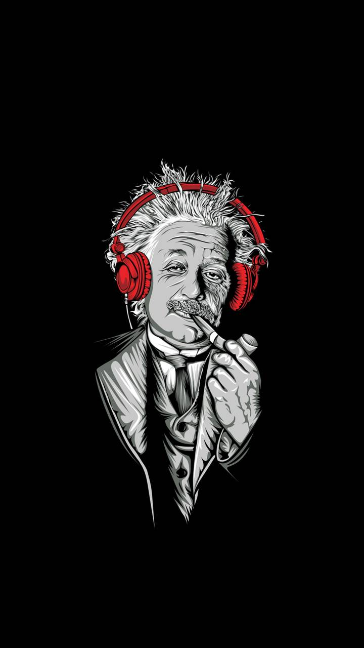Einstein Wallpaper By Gniewnaewa