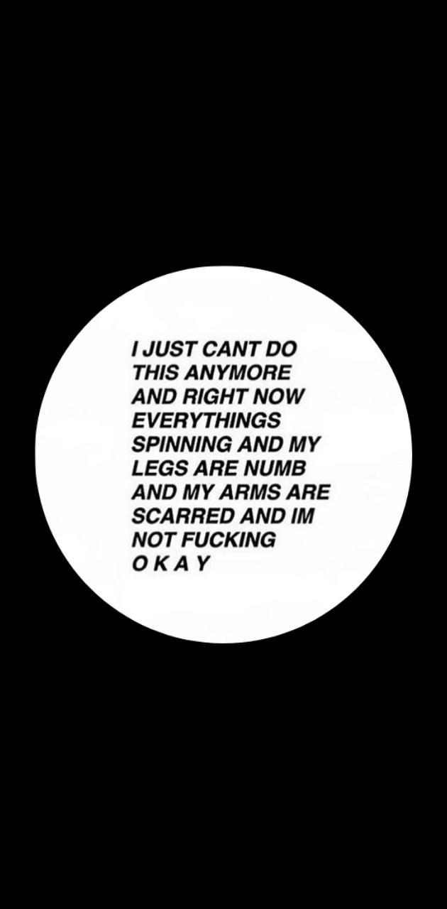 Depressing quote