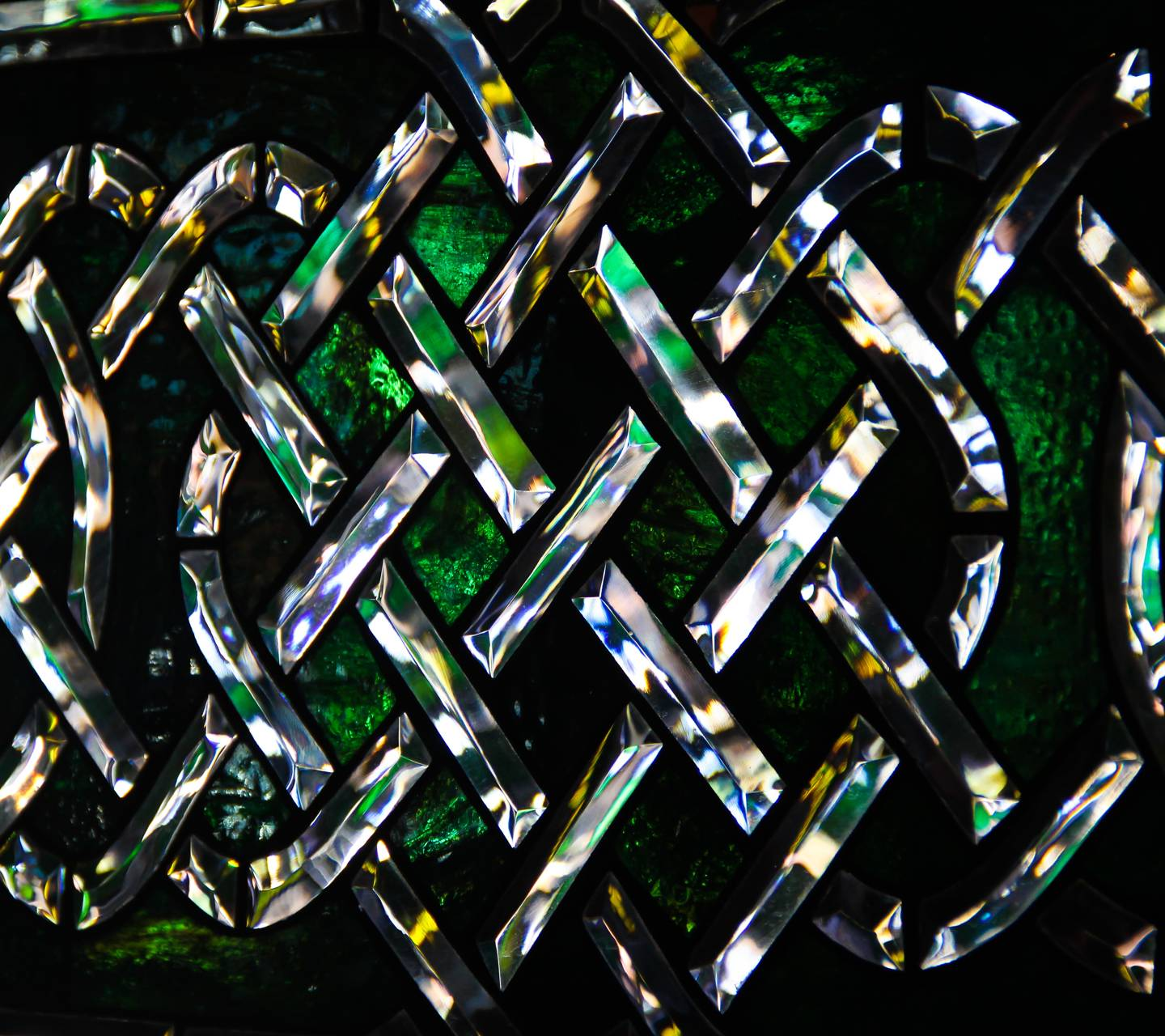 Celtic Stained Glass