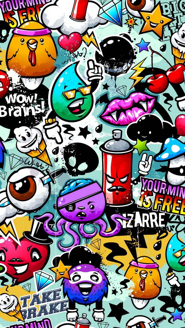 Cartoon Graffiti