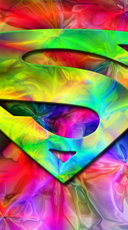 Colorful Superman
