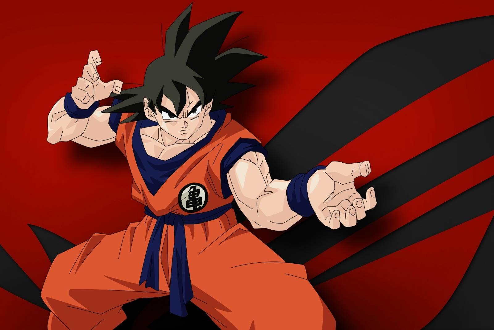 Goku Abstract BG