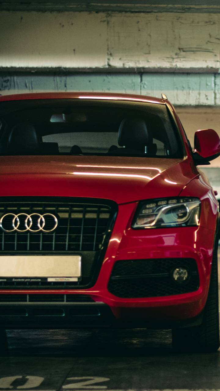 Red Audi