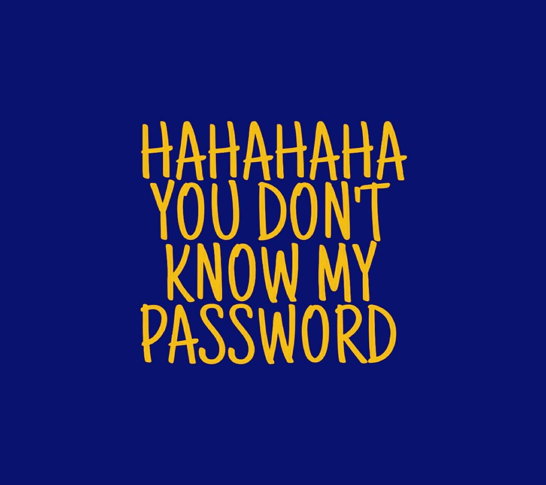 Hahaha Passwort