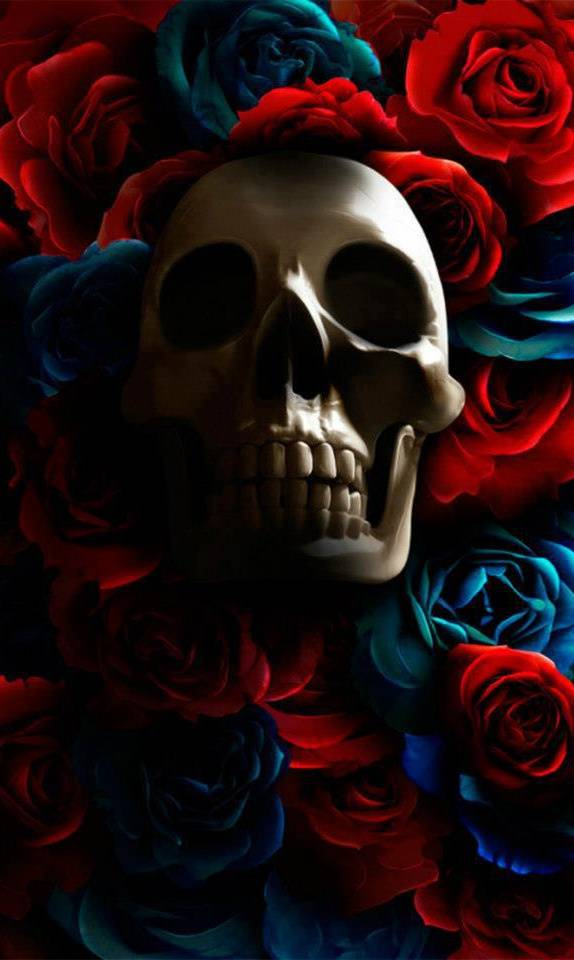 Skull Roses Wallpaper By Carinesmith B3 Free On Zedge