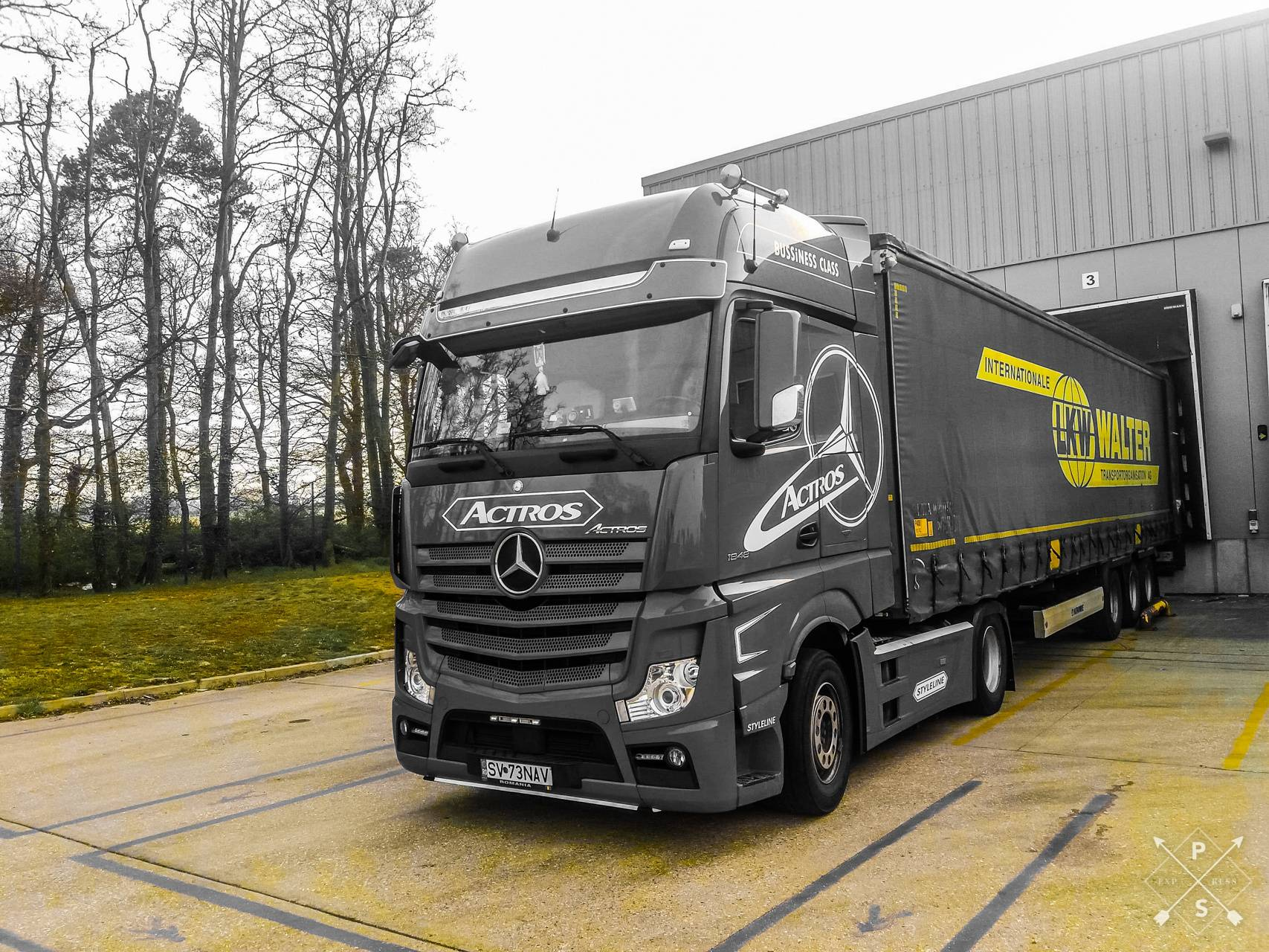 Actros Mp4 1848