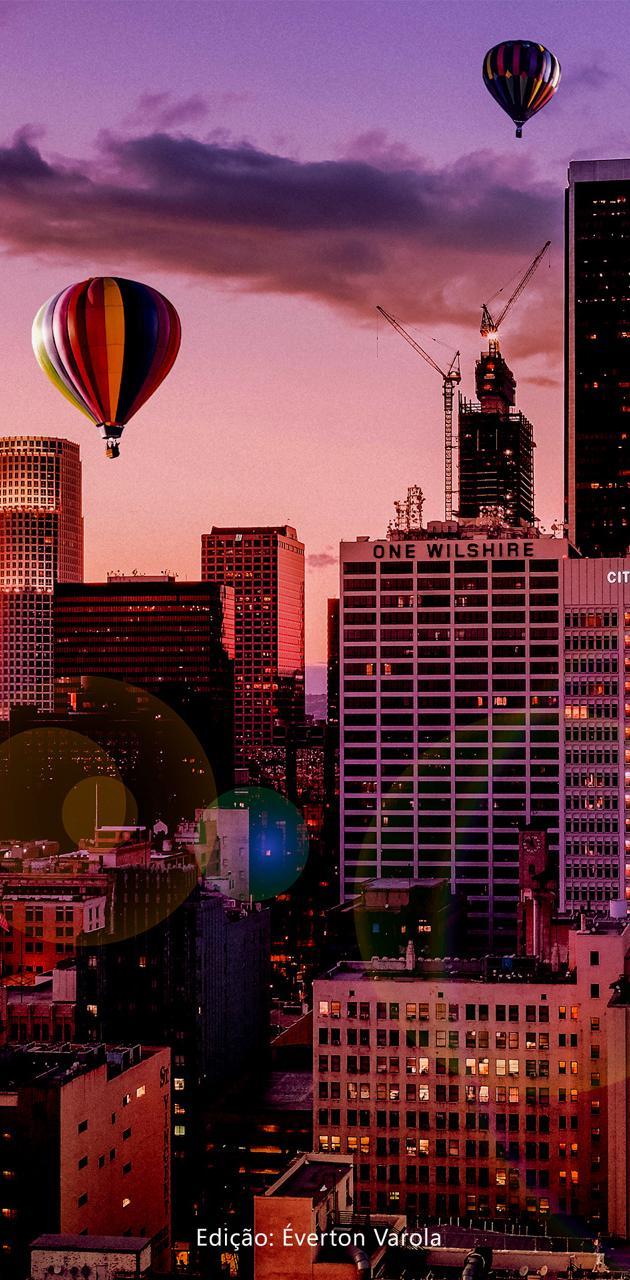 Ballon in City