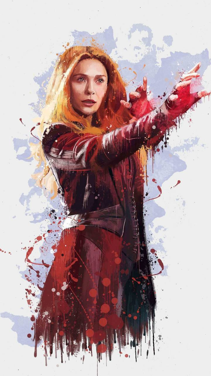 Scarlet Witch Wallpaper By Trizze 7b Free On Zedge